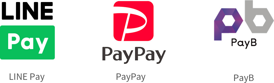 LINE Pay/PayPay/PayB
